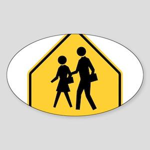 School Zone Sticker