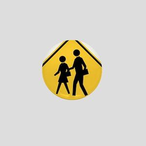 School Zone Mini Button