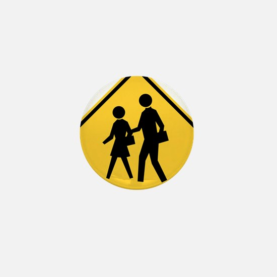 School Zone Mini Button