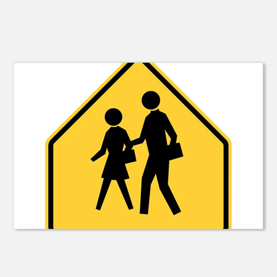 School Zone Postcards (Package of 8)