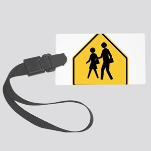 School Zone Luggage Tag