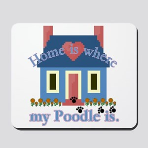 Poodle Lovers Gifts Mousepad
