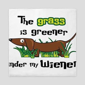 Under my wiener Queen Duvet