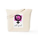 All Girl Tote Bag