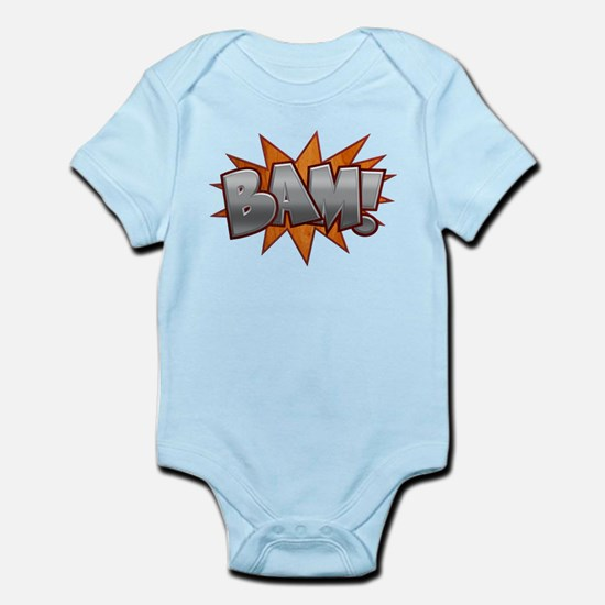 Inlay Bam! Infant Bodysuit