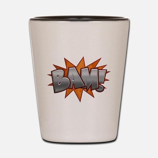 Inlay Bam! Shot Glass