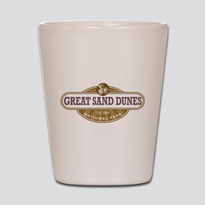 Great Sand Dunes National Park Shot Glass