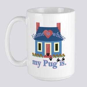 Pug Lover Gifts Large Mug