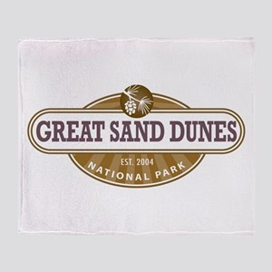 Great Sand Dunes National Park Throw Blanket