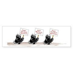 Dust Bunnies Sticker (Bumper 50 pk)