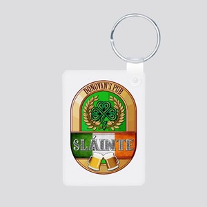 Donovan's Irish Pub Aluminum Photo Keychain
