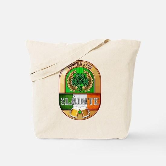 Donovan's Irish Pub Tote Bag