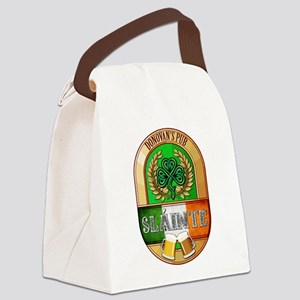 Donovan's Irish Pub Canvas Lunch Bag