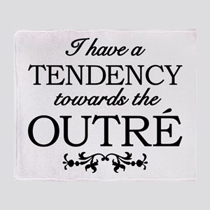 Tendency Towards The Outre Throw Blanket