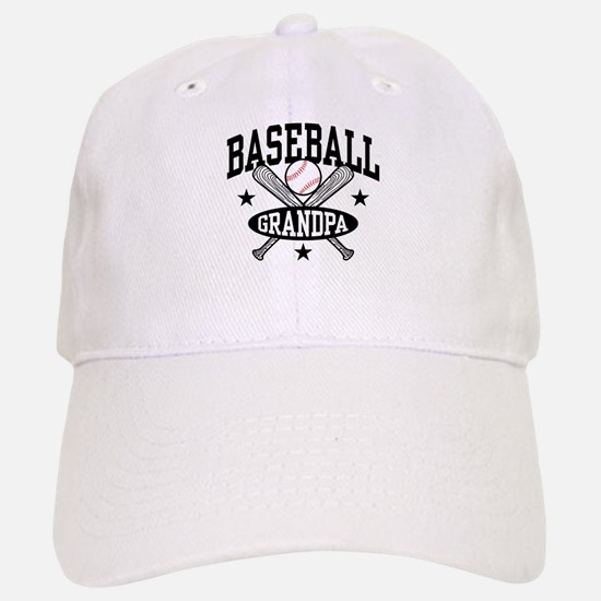 Baseball Grandpa Baseball Baseball Cap
