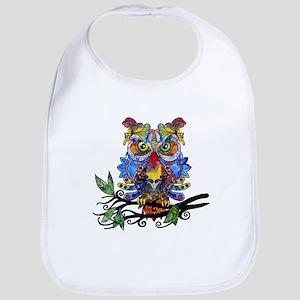 wild owl Bib