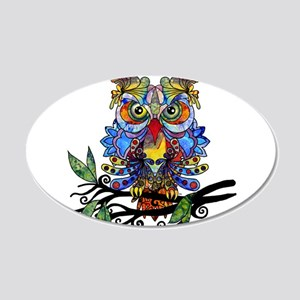 wild owl Wall Decal