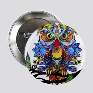 "wild owl 2.25"" Button"