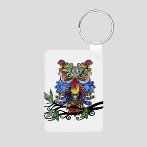 wild owl Keychains