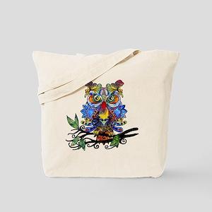 wild owl Tote Bag