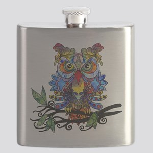 wild owl Flask