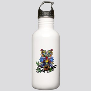 wild owl Water Bottle