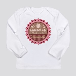 Personalized MawMaws Girl Long Sleeve T-Shirt