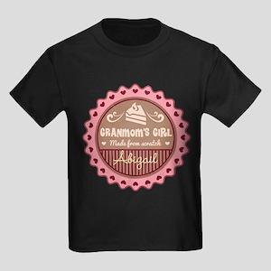 Personalized Granmoms Girl T-Shirt
