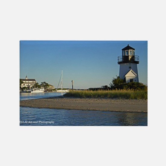 Cape Cod Lighthouse Rectangle Magnet