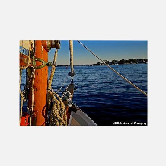 Cape Cod Sailboat Rectangle Magnet