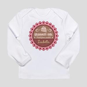 Personalized Grammas Girl Long Sleeve T-Shirt