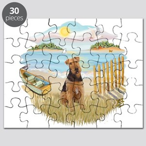 Rowboat - Airedale 1 Puzzle