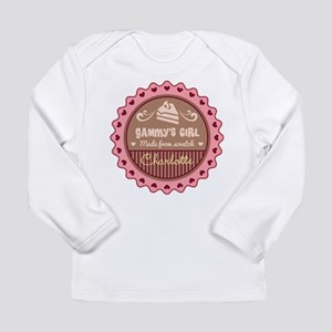 Personalized Gammys Girl Long Sleeve T-Shirt