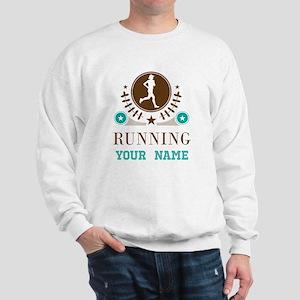 Personalized Running Cross Country Sweatshirt
