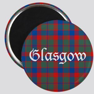 Tartan - Glasgow dist. Magnet