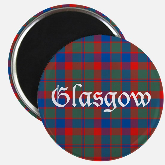 "Tartan - Glasgow dist. 2.25"" Magnet (10 pack)"