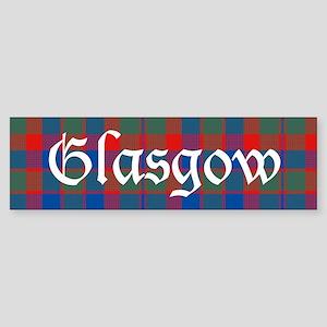 Tartan - Glasgow dist. Sticker (Bumper)
