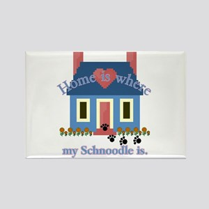 Schnoodle Lover Gifts Rectangle Magnet (10 pack)