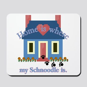 Schnoodle Lover Gifts Mousepad
