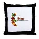 Grace Logo 2017 Throw Pillow