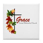 Grace Logo 2017 Tile Coaster