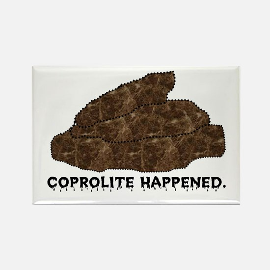 Coprolite Happened -- Rectangle Magnet (10 pack)
