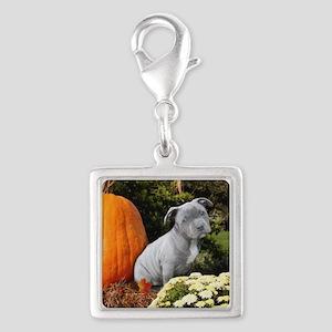 Halloween pitbull puppy Charms