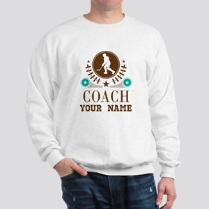 Ice Hockey Coach Personalized Sweatshirt