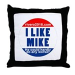 I Lke Mike (RVERO 2016) Throw Pillow