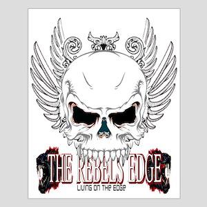 Rebel Skull Wings Posters