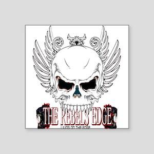 Rebel Skull Wings Sticker