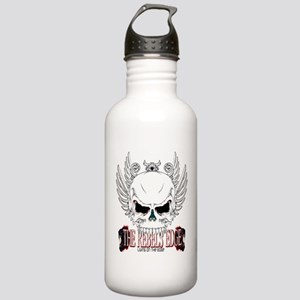 Rebel Skull Wings Water Bottle