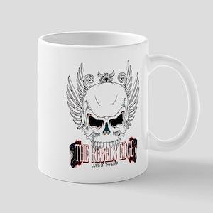 Rebel Skull Wings Mugs