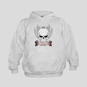 Rebel Skull Wings Hoodie